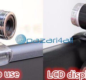 pazari4all.gr-Kάμερα νυχτερινής όρασης βιντεοκάμερα για Desktop PC, laptop φορητό 12 Megapixels με ψηφιακό βίντεο υψηλής ποιότητας μικρόφωνο