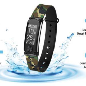 pazari4all.gr Ρολόι smart Q-BAND Heart Fitness Band Q-68HR, με έξυπνη ειδοποίηση