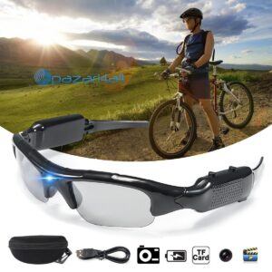 pazari4all.gr - Γυαλιά Ηλίου Κρυφή Κάμερα Καταγραφικό, Action Spy Camera SunGlasses