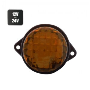 pazari4all.gr-Πλευρικό φως όγκου LED 12/24V για αυτοκίνητα και φορτηγά 8 SMD πορτοκαλί OEM