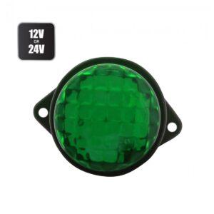 pazari4all.gr-Πλευρικό φως όγκου LED 12/24V για αυτοκίνητα και φορτηγά 8 SMD πράσινο OEM