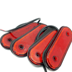 pazari4all.gr- Τετράδα 2Χ3W 24 V Αδιάβροχα Πλαϊνά LED Φορτηγών Ρυμουλκών Κόκκινο