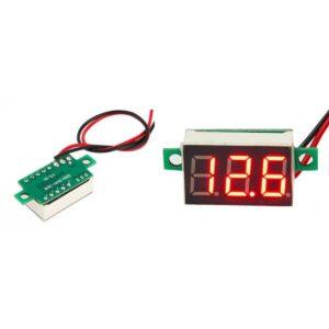 "pazari4all.gr-Mini ψηφιακό βολτόμετρο Αυτοκινήτου 0.28"" 2.5 ~ 30V OEM"