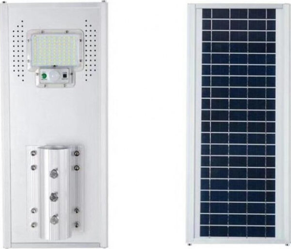 pazari4all.gr-Ηλιακός Προβολέας με φωτοβολταικό πάνελ 100W LED ΜΕ αισθητήρα φωτός JD-1950