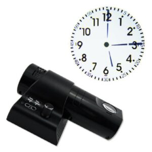 pazari4all.gr-Αναλογικό Ρολόι Προτζέκτορας με Τηλεχειριστήριο