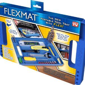 pazari4all.gr-Flexmat φορητός δίσκος εργαλειοθήκη με ενσωματωμένο χάρακα μέτρησης