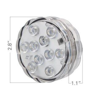 pazari4all.gr-Φώς Τηλεχειριζόμενο RGB LED μπαταρίας OEM