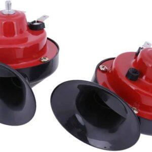 Κόρνα σαλίγκαρος 12V δύο τόνων (μπάσα-πρίμα) με υπερδιπλάσια ένταση ήχου σε σχέση με τις εργοστασιακές κόρνες.-pazari4all.gr