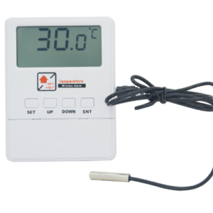 pazari4all.gr-Ο ασύρματος ανιχνευτής θερμοκρασίας με οθόνη LCD λειτουργεί με σύστημα συναγερμού GSM