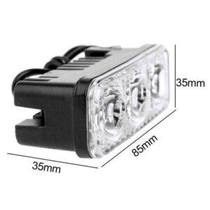 pazari4all.gr-LED Προβολάκι Μηχανής 6W 700LM CEB76