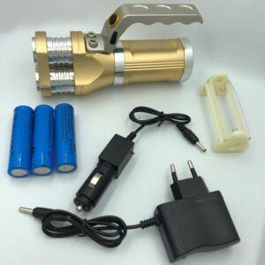 30W Φακός LED 3πλός με χερούλι-pazari4all.gr