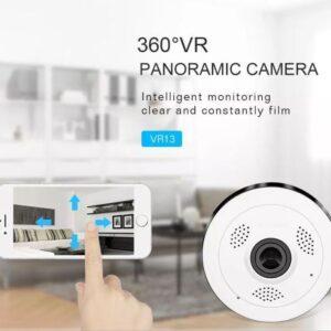 pazari4all.gr-Ασύρματη Mini 360° Πανοραμική κάμερα HD