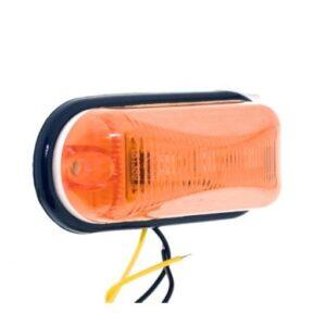 pazari4all.gr-Αδιάβροχα Πλαϊνά 3W LED Φορτηγών Ρυμουλκών Κίτρινο 24V