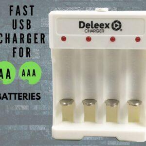 pazari4all.gr-Φορτιστής για επαναφορτιζόμενες μπαταρίες