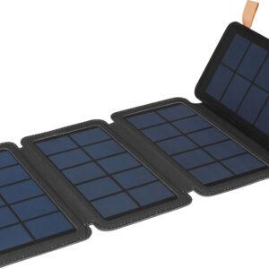pazari4all.gr-Ηλιακός φορητός φορτιστής με αναδιπλούμενο πάνελ.