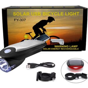 pazari4all.gr-Ηλιακό φως ποδηλάτου led fy-307 OEM