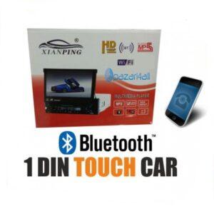 pazari4all.gr-XIANPING Αναδιπλούμενη οθόνη 1 Din - Bluetooth