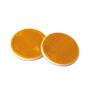 pazari4all.gr-Σετ ανακλαστήρες πορτοκαλί στρογγυλοί με διπλή σκάλα
