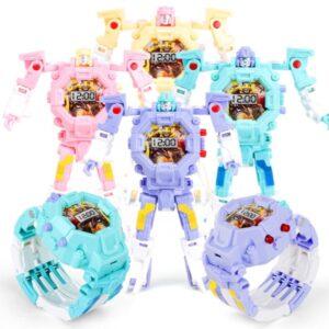 pazari4all.gr-Παιδικό ρολόι που μεταφορφώνεται σε ρομπότ