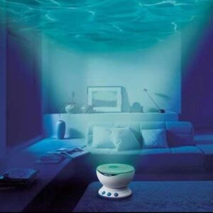 pazari4all.gr-Προτζέκτορας με Θαλάσσια Κύματα & Ήχο