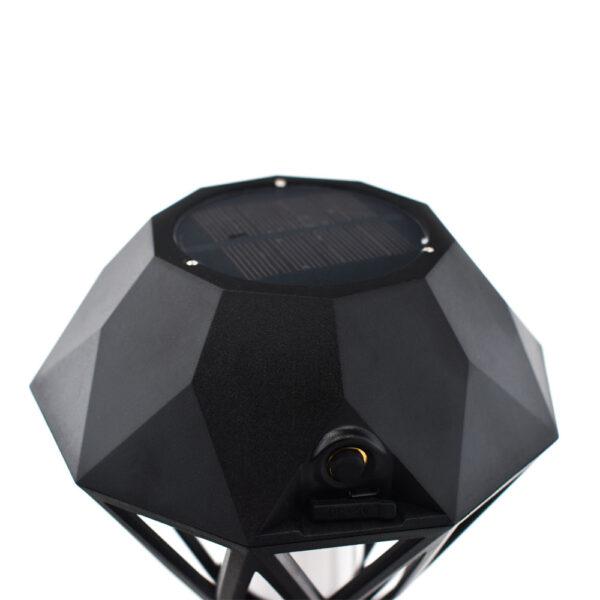 pazari4all.gr-Ηλιακή Διακοσμητική Δάδα LED Αδιάβροχη IP65 USB