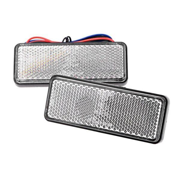 Led Reflector πορείας και φρένων με 24 led 12V λευκό