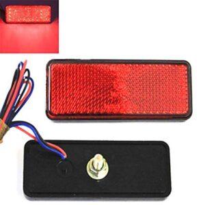 pazari4all.gr-Led Reflector πορείας και φρένων με 24 led 12V Κόκκινο