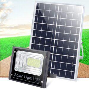 pazari4all.gr-Ηλιακός Solar Προβολέας Αδιάβροχος 200W