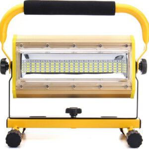 pazari4all.gr-Επαναφορτιζόμενος φορητός LED προβολέας 100w w812