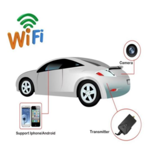 pazari4all.gr-Ασύρματη WiFi Κάμερα Οπισθοπορείας Αυτοκινήτου για Σύνδεση σε Κινητό & Τάμπλετ