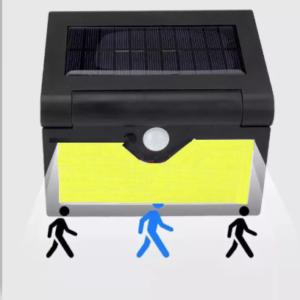 pazari4all.gr-Ηλιακό προβολάκι με ανίχνευση κίνησης και αναδιπλούμενο πάνελ