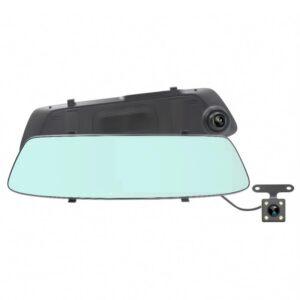 "pazari4all.gr-Καθρέφτης αυτοκινήτου με 2 HD DVR κάμερες και οθόνη LCD 5"""