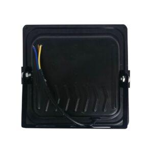 pazari4all.gr- COB αδιάβροχος προβολέας μαύρος με 1 led 220V / 50W / 4000LM / 6500K OEM