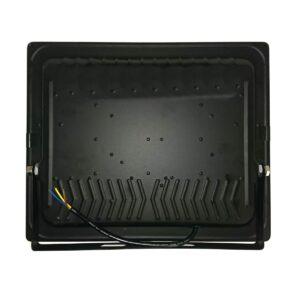 pazari4all.gr- COB αδιάβροχος προβολέας μαύρος με 3 led 220V / 150W / 13000LM / 6500K OEM