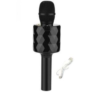 pazari4all.gr-Ασύρματο bluetooth μικρόφωνο και ηχείο καραόκε