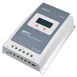 pazari4all.gr-Ρυθμιστής φόρτισης φωτοβολταϊκών MPPT Tracer 4210A 40A