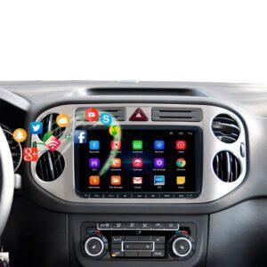 "pazari4all.gr-Οθόνη αυτοκινήτου VW GROUP 9"" ANDROID 8.1"