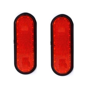 pazari4all-Ανακλαστήρες LED slim Φώτα Όγκου Φορτηγών Κόκκινο - ΟΕΜ