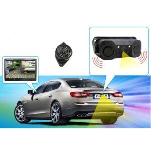 pazari4all.gr-3 σε 1 αισθητήρες στάθμευσης αυτοκινήτων με πίσω κάμερα