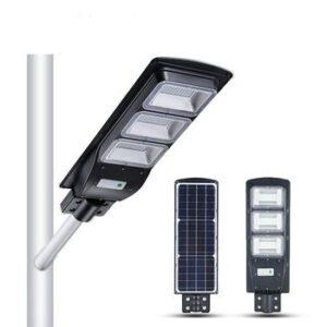 pazari4all.gr-Ηλιακό Φωτιστικό LED Δρόμου, Αδιάβροχο, Αυτόνομο 90W με ενσωματωμένο φωτοβολταϊκό πάνελ.