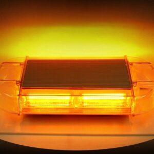pazari4all.gr-Μαγνητικός Φάρος Led Πορτοκαλί 9-30volt - ΟΕΜ