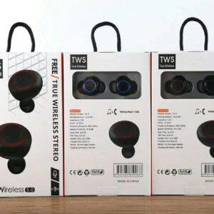 pazari4all.gr-AKZ-W8 Ασύρματα διπλά ακουστικά στερεοφωνικά Bluetooth 5.0