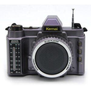 pazari4all.gr-Ραδιόφωνο με μορφή φωτογραφικής μηχανής Kemai MD-V8BT