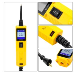 pazari4all.gr-Διαγνωστικό Μέτρησης BT260 Tester κυκλώματος αυτοκινήτου Αισθητήρας ισχύος Αυτόματη ηλεκτρική τάση Ελεγκτής ηλεκτρικών εξαρτημάτων 12V 24V LED