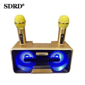 pazari4all.gr-Ασύρματο καραόκε με 2 μικρόφωνα SDRD SD-301