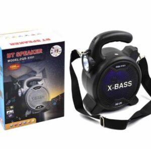 pazari4all.gr-Ηχείο Bluetooth με φακό ZQS-5101