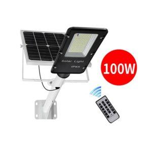 pazari4all.gr-Ηλιακό πάνελ φωτισμού δρόμου 100W με έξοδο φωτισμού