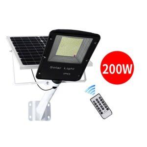 pazari4all.gr-Ηλιακό πάνελ φωτισμού δρόμου 200W με έξοδο φωτισμού