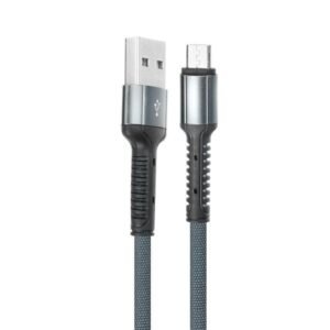 pazari4all.gr-Ενισχυμένο Καλώδιο USB 2.0 σε Micro usb Fast Charging 2.4A