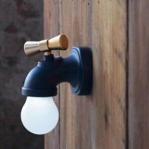 pazari4all.gr-Επαναφορτιζόμενο Φωτιστικό Νυκτός Tap Light